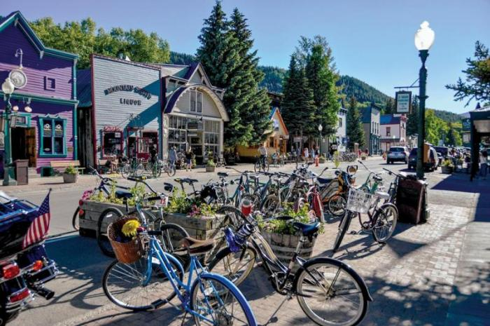 Crested Butte downtown bike week