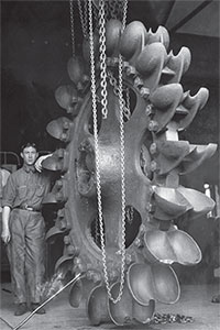 Pelton Wheel at the Ames Power Plant