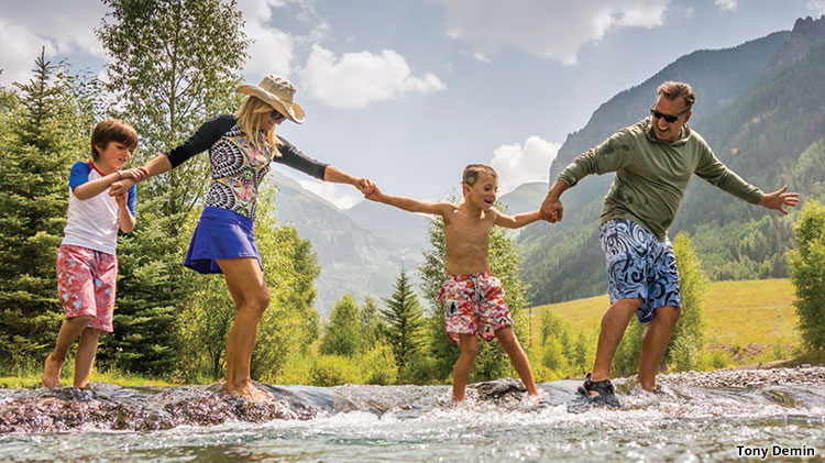 Telluride Family Friendly Vacation