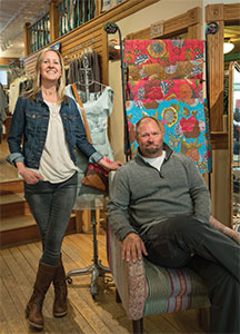 Toggery's Owners Wendy Basham & Todd Tice