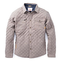 Men's Caribou Quilted Shirt / Jacket