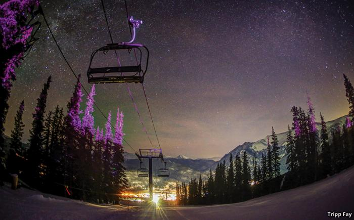 Copper Mountain's Moonlight Dine & Ski
