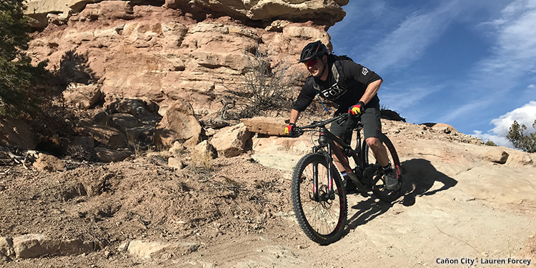 Cañon City Mountain Biking