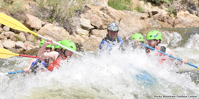 Rafting with Rocky Mountain Outdoor Center