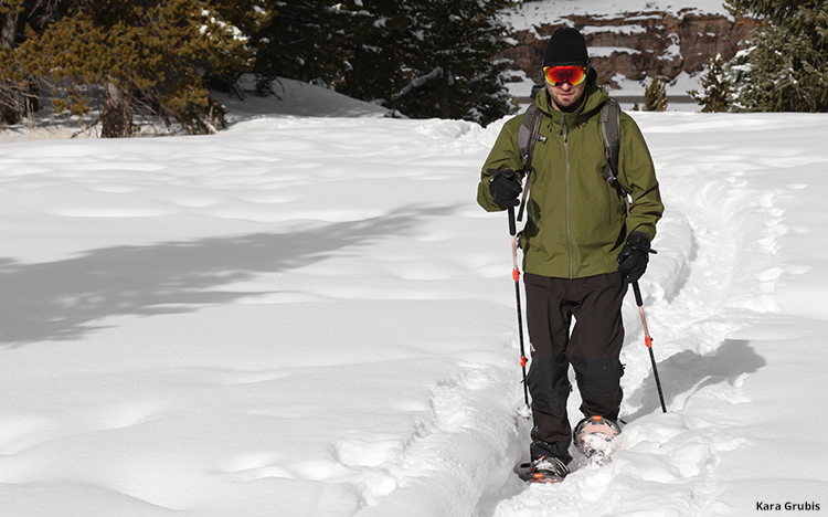 Snowshoeing in Colorado
