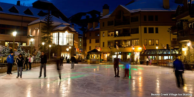 Beaver Creek Village Ice Skating