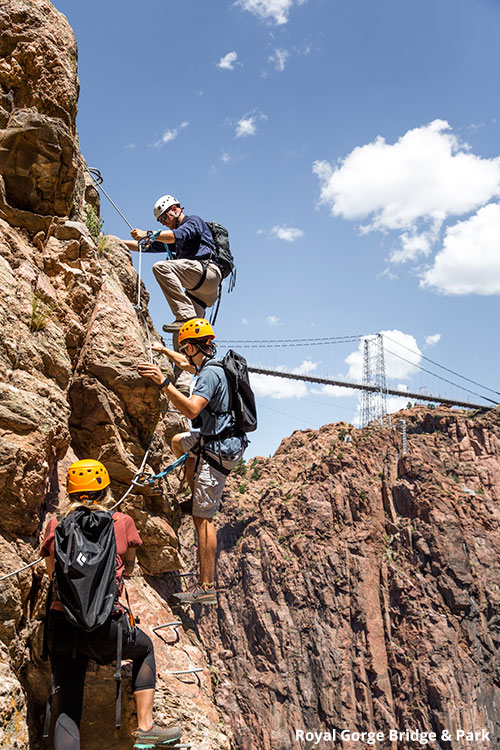 Royal Gorge Bridge & Park Via Ferrata