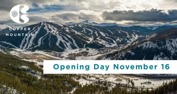 Copper Mountain Opening Day
