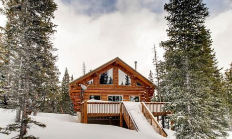 Ptarmigan Lodge - Log Cabin with Fabulous Mountain Views Near Breckenridge and Fairplay