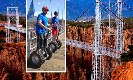 The Royal Gorge Bridge Segway PT Tour by iLEAN RIDE CO