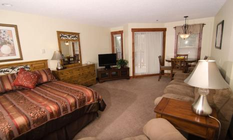 Studio accommodations in Breckenridge CO.