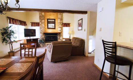 Three bedroom townhome in Breckenridge CO.