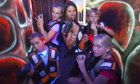 Wild West Laser Tag - all year