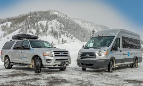 Airport shuttle to Copper Mountain