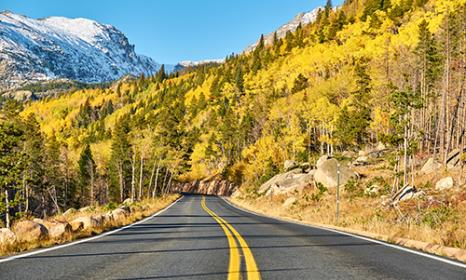 Fall Driving Tour: Peak to Peak Scenic Byway