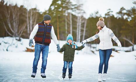 Gorgeous Colorado Outdoor Ice Skating Rinks