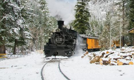 Winter Train Rides in Colorado