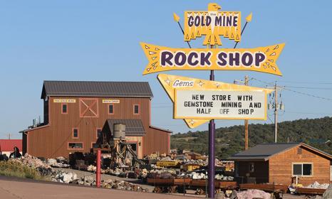 Gold Mine Rock Shop