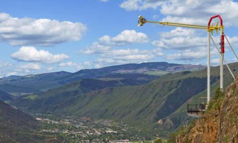 The Giant Canyon Swing - seasonal
