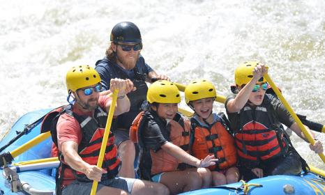 The Best White Water Rafting in Colorado for Families