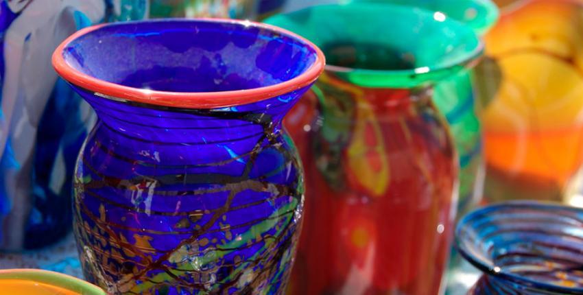 Vases in Art Gallery