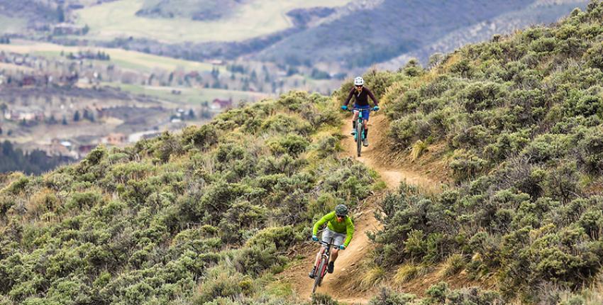 Mountain Biking in Avon, Colorado