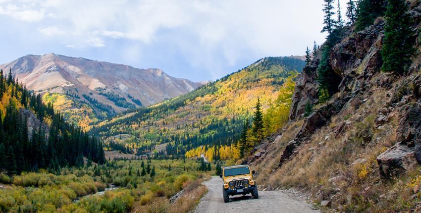 Jeep in Colorado